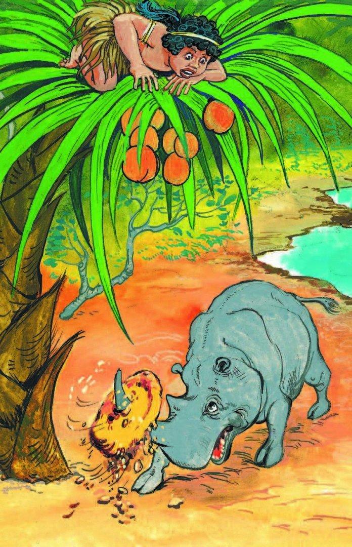 иллюстрации к сказке слоненок правда