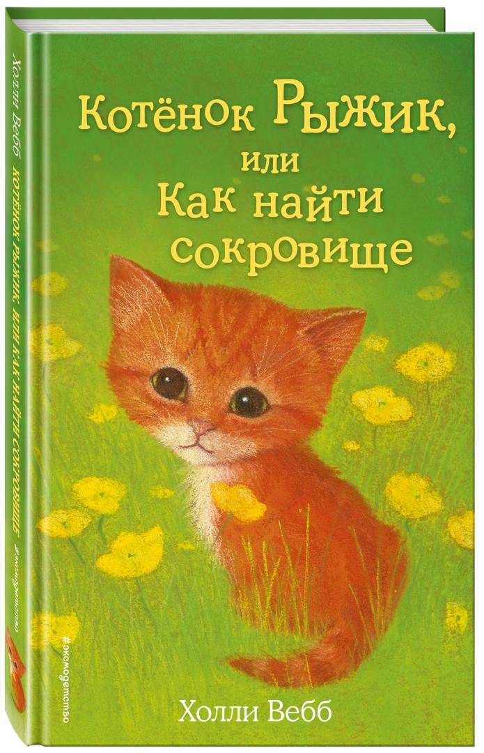 Иллюстрация 1 из 36 для Котёнок Рыжик, или Как найти сокровище - Холли Вебб | Лабиринт - книги. Источник: Лабиринт
