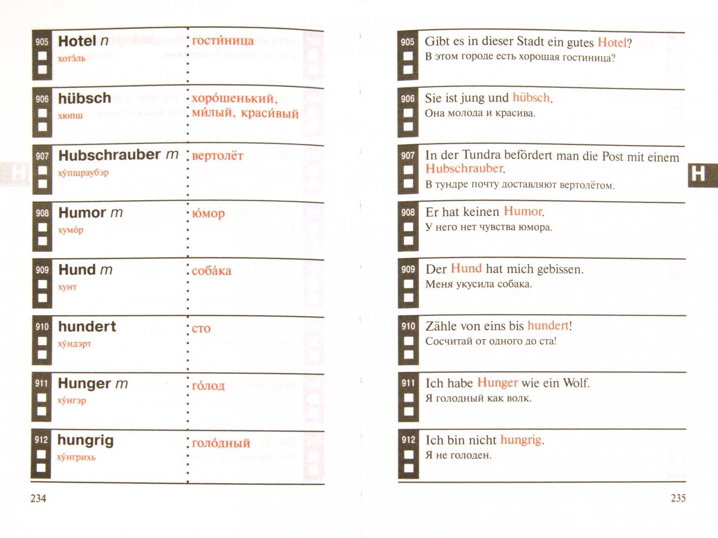 Иллюстрация 1 из 6 для Немецкий язык. Мои первые 2000 немецких слов. Учебный словарь с примерами словоупотребления | Лабиринт - книги. Источник: Лабиринт