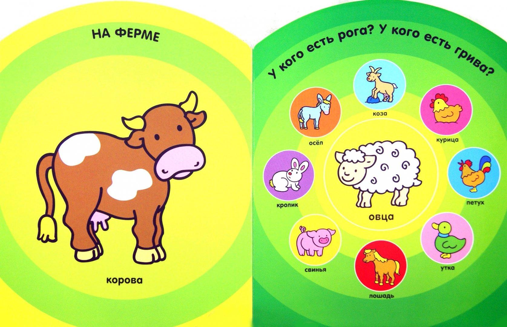 Иллюстрация 1 из 6 для Мир вокруг меня. Мой первый словарик. 1-2 года | Лабиринт - книги. Источник: Лабиринт