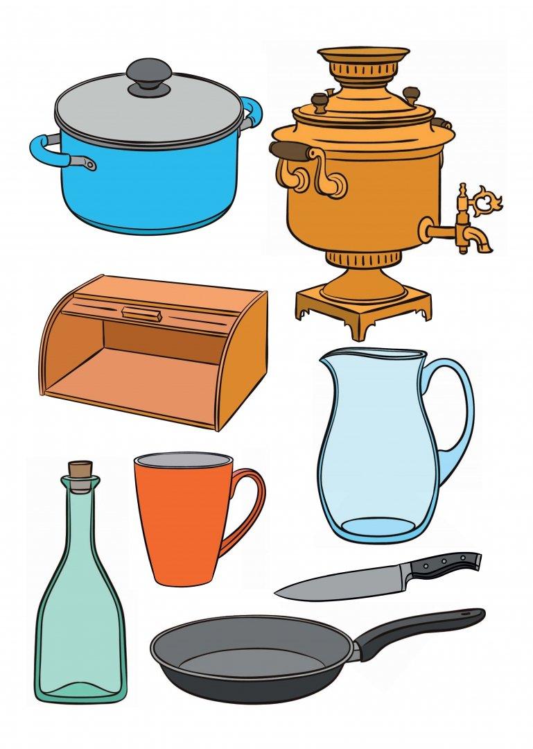 Картинки для детей доу посуда