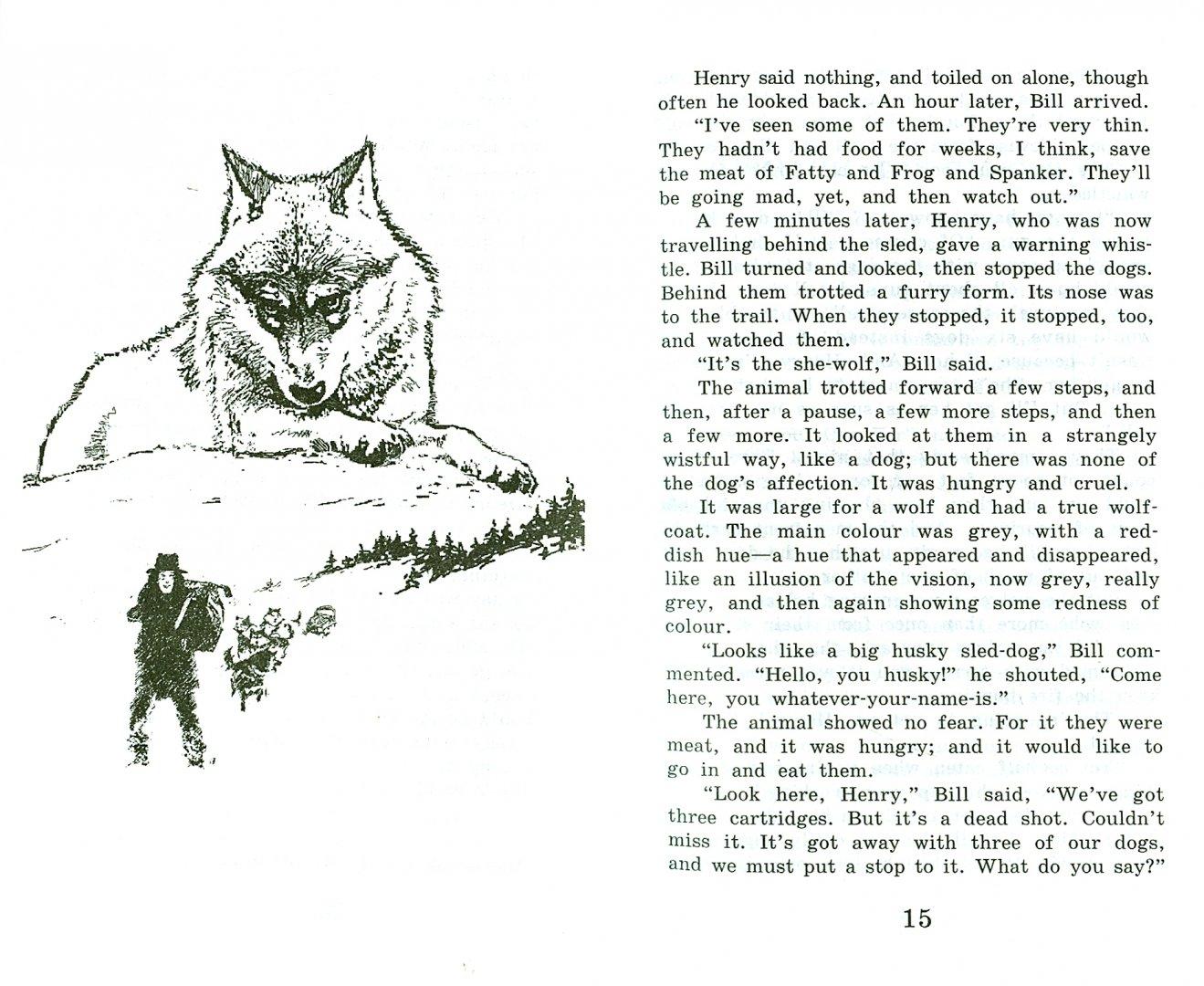 Иллюстрация 1 из 34 для Белый клык - Джек Лондон   Лабиринт - книги. Источник: Лабиринт