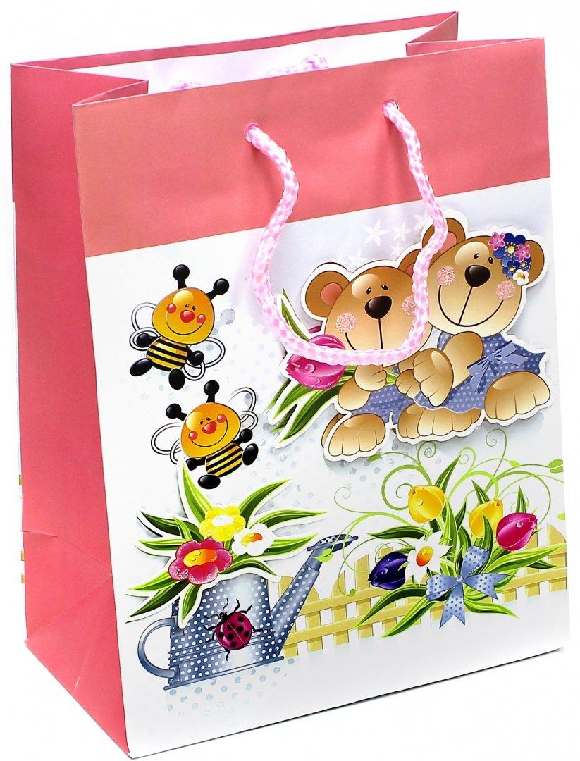 Иллюстрация 1 из 3 для Пакет подарочный ламинированный 180х227х100 (M-3D-003)   Лабиринт - сувениры. Источник: Лабиринт