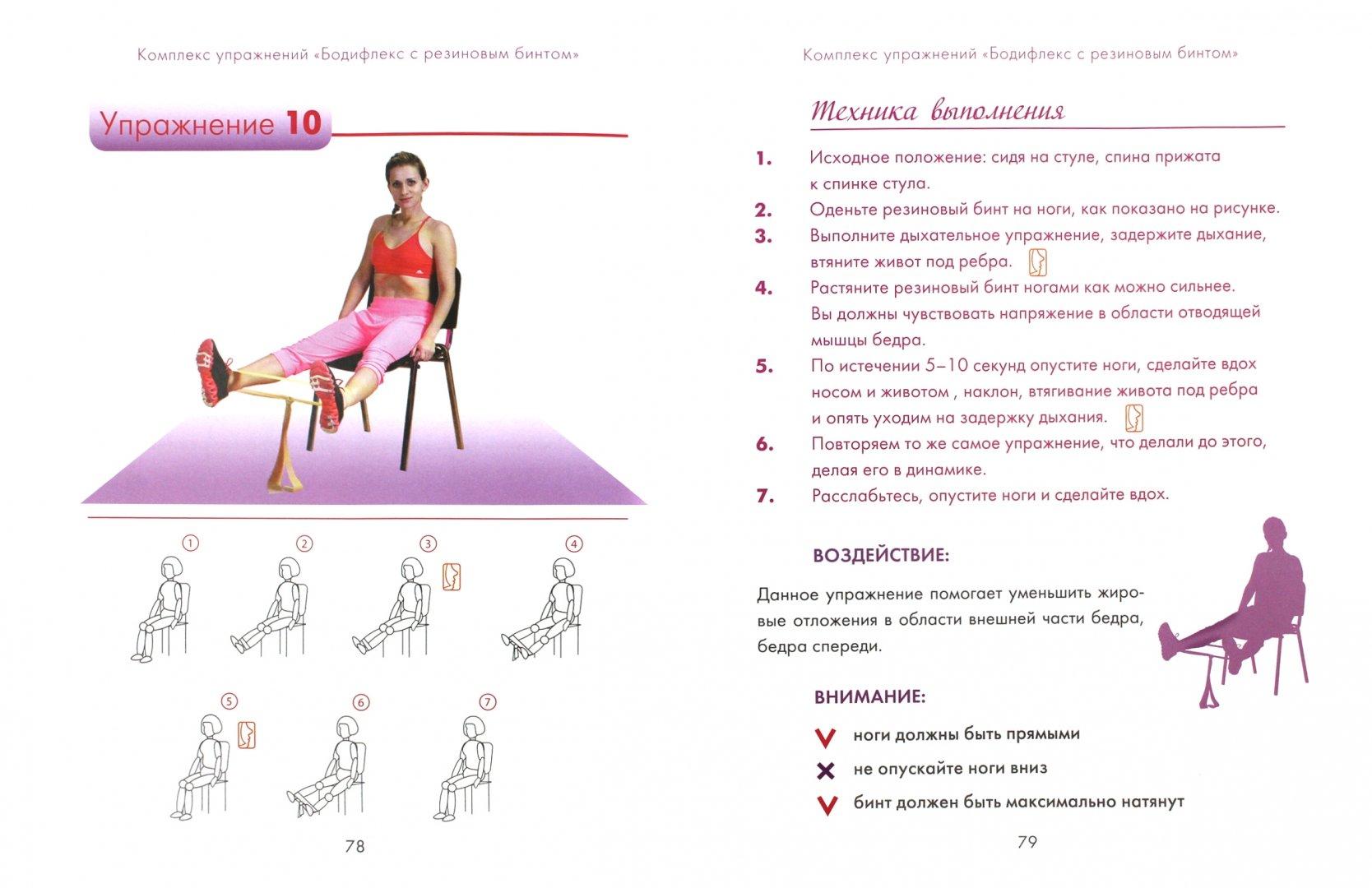 бодифлекс упражнения в картинках и с описанием и схемами показал корреспонденту телефоне
