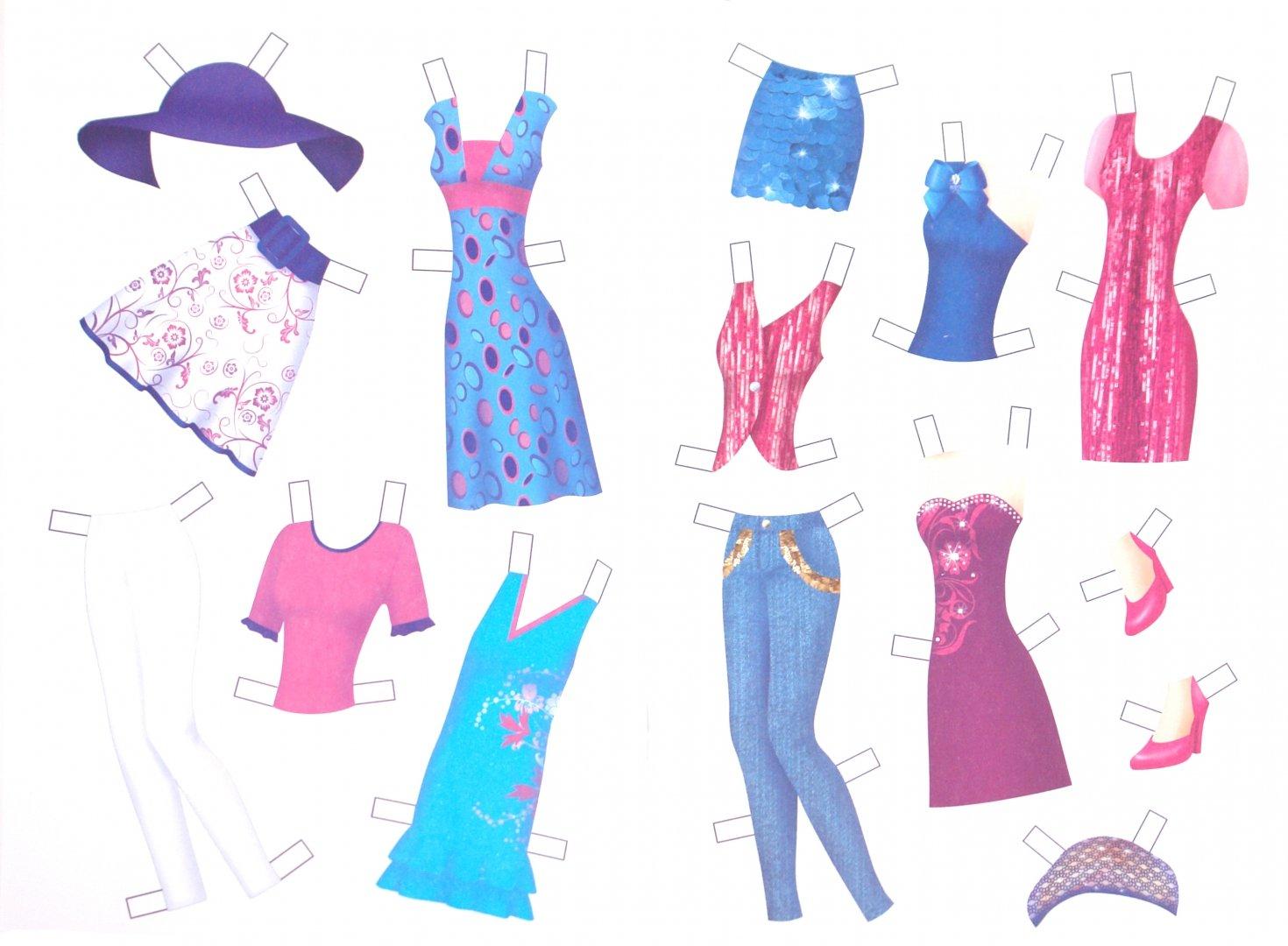 картинки наборы барби с одеждой для вырезания гостиной скандинавском