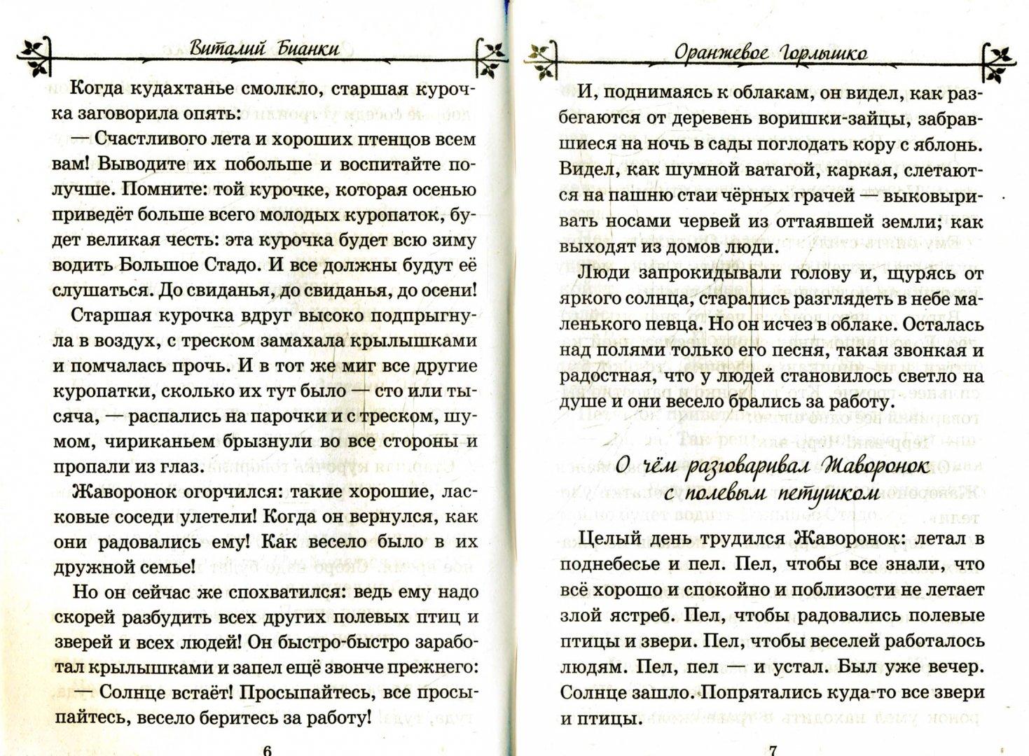 Иллюстрация 1 из 10 для Оранжевое Горлышко - Виталий Бианки | Лабиринт - книги. Источник: Лабиринт