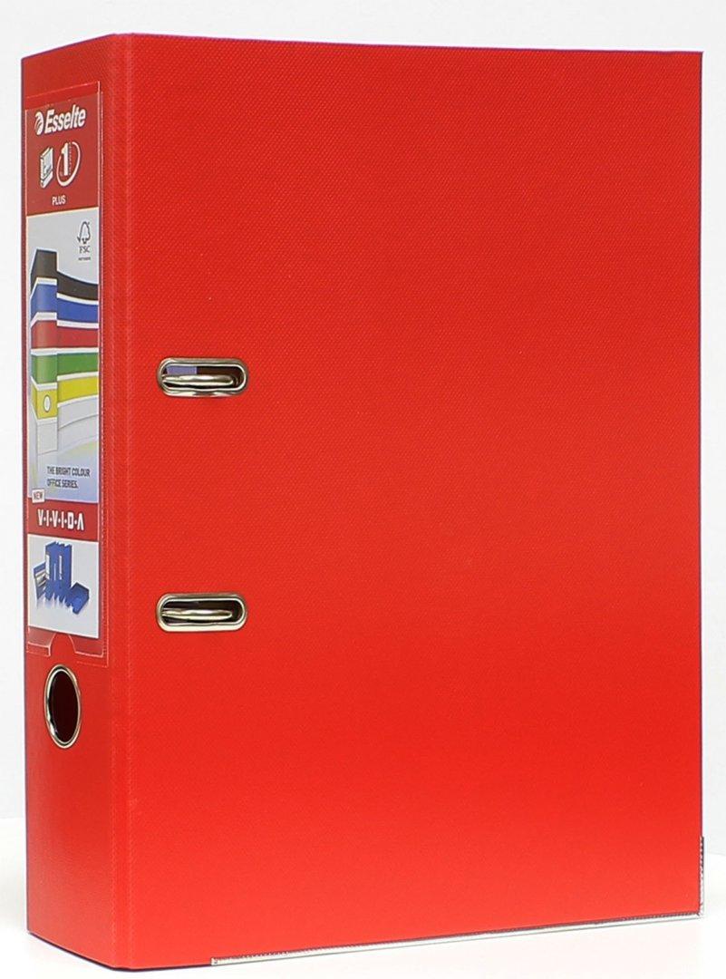 Иллюстрация 1 из 5 для Папка с арочным механизмом A4+ (80 мм, красная) (81183)   Лабиринт - канцтовы. Источник: Лабиринт