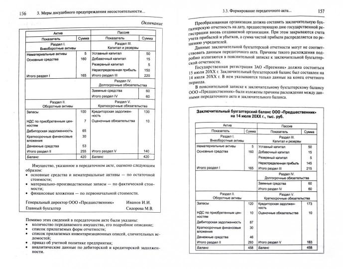 учет и анализ банкротства 2015