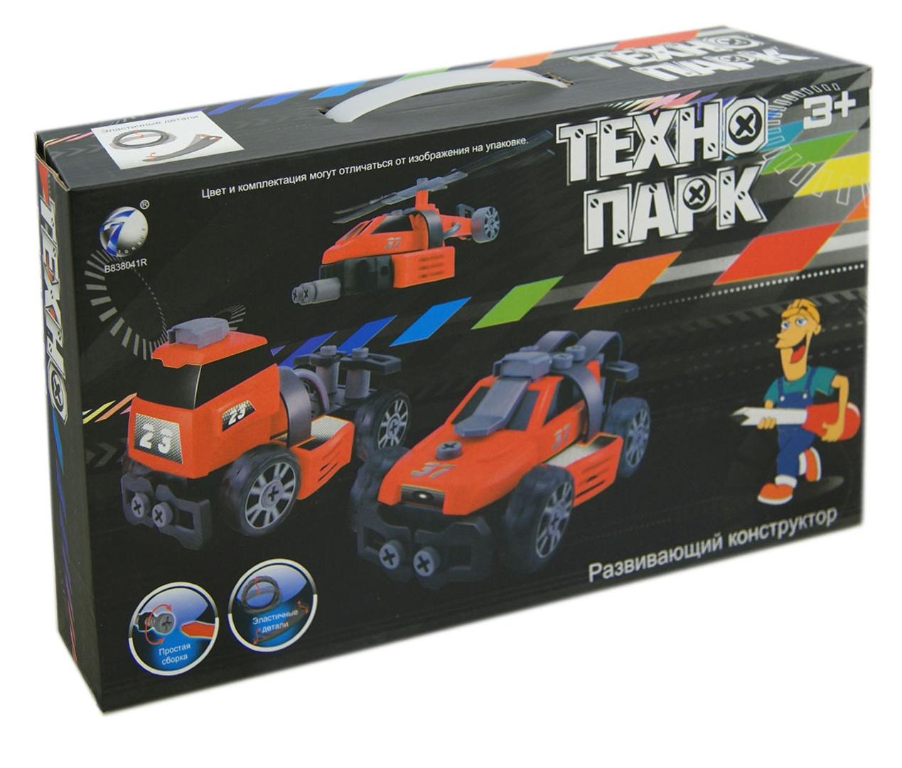 Иллюстрация 1 из 12 для Развивающий конструктор ТЕХНОПАРК, 3 модели (В72172) | Лабиринт - игрушки. Источник: Лабиринт