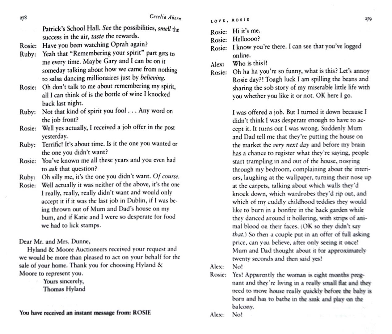 Иллюстрация 1 из 9 для Love, Rosie - Cecelia Ahern | Лабиринт - книги. Источник: Лабиринт