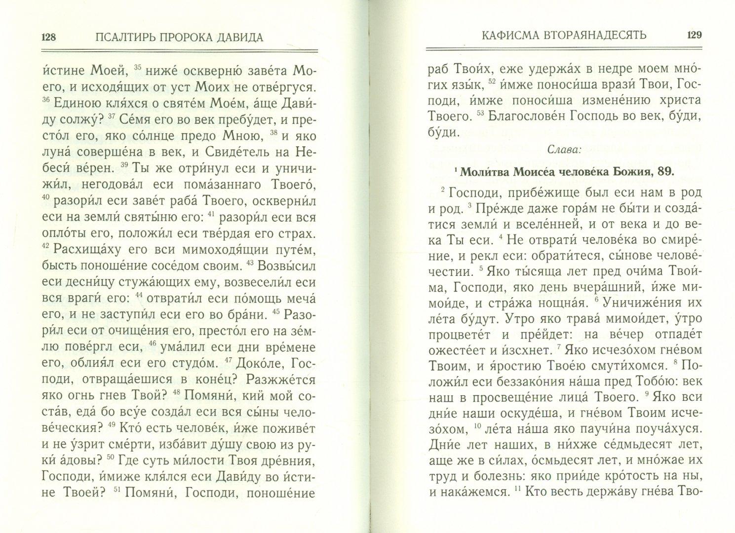 Иллюстрация 1 из 20 для Псалтирь | Лабиринт - книги. Источник: Лабиринт